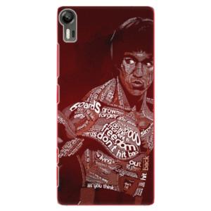 Plastové pouzdro iSaprio Bruce Lee na mobil Lenovo Vibe Shot