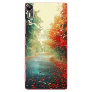 Plastové pouzdro iSaprio Autumn 03 na mobil Lenovo Vibe Shot