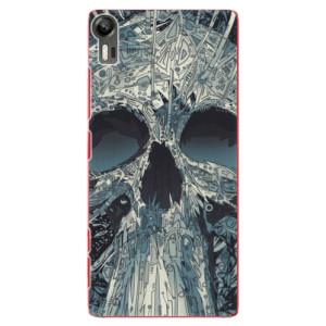 Plastové pouzdro iSaprio Abstract Skull na mobil Lenovo Vibe Shot