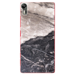 Plastové pouzdro iSaprio BW Marble na mobil Lenovo Vibe Shot