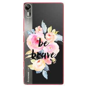 Plastové pouzdro iSaprio Be Brave na mobil Lenovo Vibe Shot