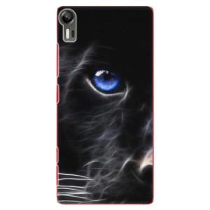 Plastové pouzdro iSaprio Black Puma na mobil Lenovo Vibe Shot