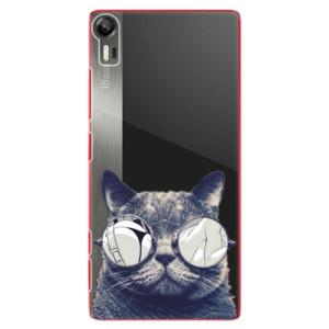 Plastové pouzdro iSaprio Crazy Cat 01 na mobil Lenovo Vibe Shot