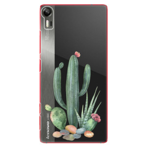 Plastové pouzdro iSaprio Cacti 02 na mobil Lenovo Vibe Shot