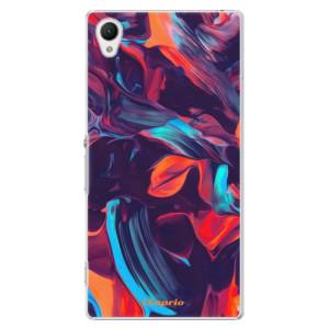 Plastové pouzdro iSaprio Color Marble 19 na mobil Sony Xperia Z1