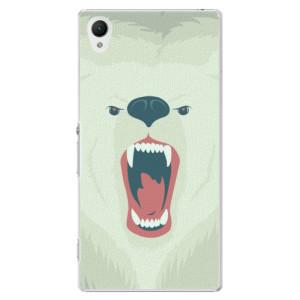 Plastové pouzdro iSaprio Angry Bear na mobil Sony Xperia Z1