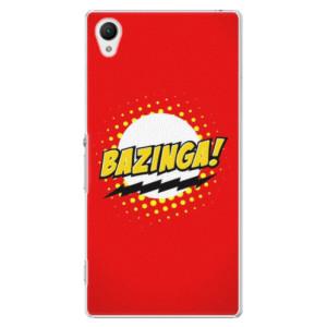 Plastové pouzdro iSaprio Bazinga 01 na mobil Sony Xperia Z1