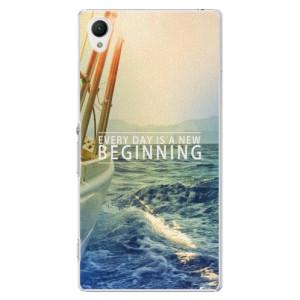 Plastové pouzdro iSaprio Beginning na mobil Sony Xperia Z1
