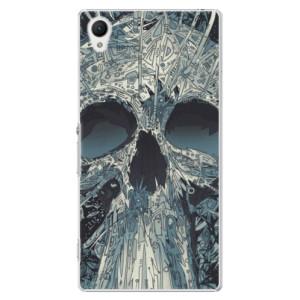 Plastové pouzdro iSaprio Abstract Skull na mobil Sony Xperia Z1