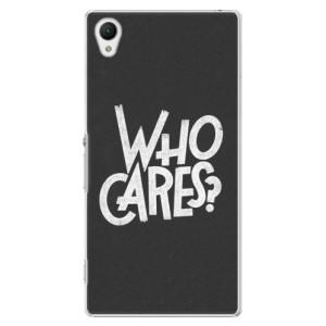 Plastové pouzdro iSaprio Who Cares na mobil Sony Xperia Z1