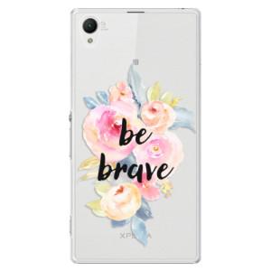 Plastové pouzdro iSaprio Be Brave na mobil Sony Xperia Z1