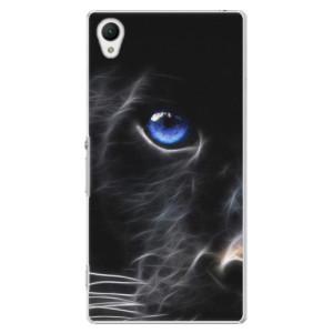Plastové pouzdro iSaprio Black Puma na mobil Sony Xperia Z1