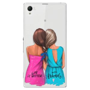 Plastové pouzdro iSaprio Best Friends na mobil Sony Xperia Z1