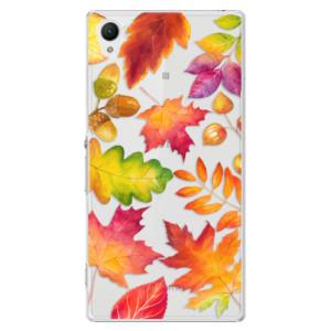 Plastové pouzdro iSaprio Autumn Leaves 01 na mobil Sony Xperia Z1