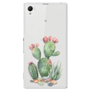 Plastové pouzdro iSaprio Cacti 01 na mobil Sony Xperia Z1