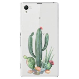 Plastové pouzdro iSaprio Cacti 02 na mobil Sony Xperia Z1