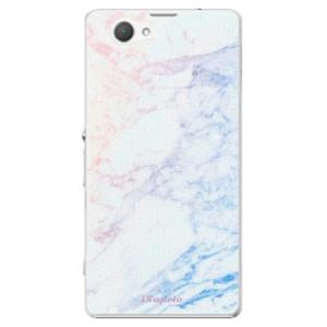 Plastové pouzdro iSaprio Raibow Marble 10 na mobil Sony Xperia Z1 Compact