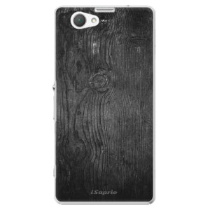 Plastové pouzdro iSaprio Black Wood 13 na mobil Sony Xperia Z1 Compact