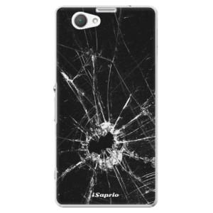 Plastové pouzdro iSaprio Broken Glass 10 na mobil Sony Xperia Z1 Compact