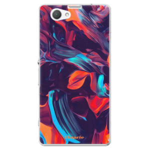 Plastové pouzdro iSaprio Color Marble 19 na mobil Sony Xperia Z1 Compact