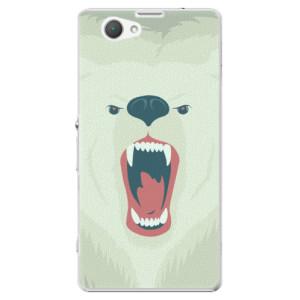 Plastové pouzdro iSaprio Angry Bear na mobil Sony Xperia Z1 Compact