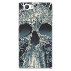 Plastové pouzdro iSaprio Abstract Skull na mobil Sony Xperia Z1 Compact