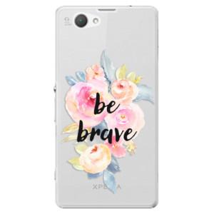 Plastové pouzdro iSaprio Be Brave na mobil Sony Xperia Z1 Compact