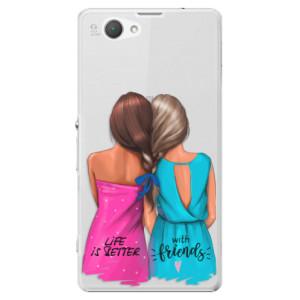 Plastové pouzdro iSaprio Best Friends na mobil Sony Xperia Z1 Compact