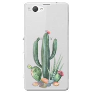 Plastové pouzdro iSaprio Cacti 02 na mobil Sony Xperia Z1 Compact