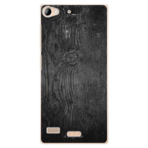 Plastové pouzdro iSaprio Black Wood 13 na mobil Sony Xperia Z2