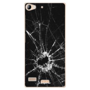 Plastové pouzdro iSaprio Broken Glass 10 na mobil Sony Xperia Z2