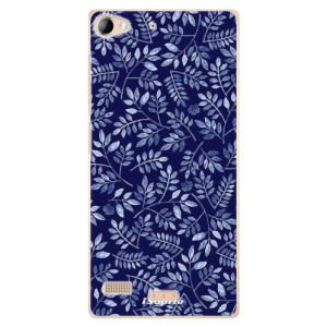 Plastové pouzdro iSaprio Blue Leaves 05 na mobil Sony Xperia Z2