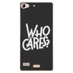 Plastové pouzdro iSaprio Who Cares na mobil Sony Xperia Z2