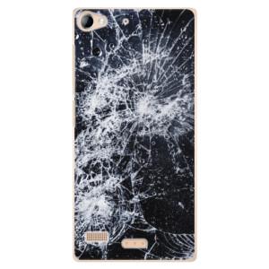 Plastové pouzdro iSaprio Cracked na mobil Sony Xperia Z2