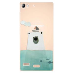 Plastové pouzdro iSaprio Bear With Boat na mobil Sony Xperia Z2