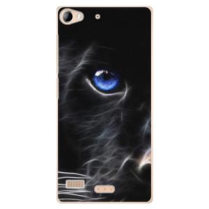 Plastové pouzdro iSaprio Black Puma na mobil Sony Xperia Z2