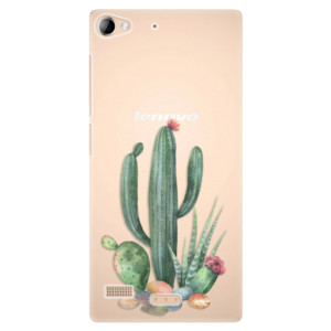 Plastové pouzdro iSaprio Cacti 02 na mobil Sony Xperia Z2
