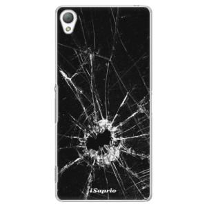 Plastové pouzdro iSaprio Broken Glass 10 na mobil Sony Xperia Z3