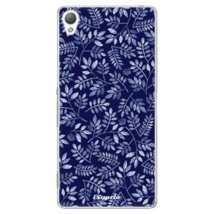 Plastové pouzdro iSaprio Blue Leaves 05 na mobil Sony Xperia Z3
