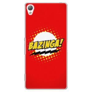 Plastové pouzdro iSaprio Bazinga 01 na mobil Sony Xperia Z3