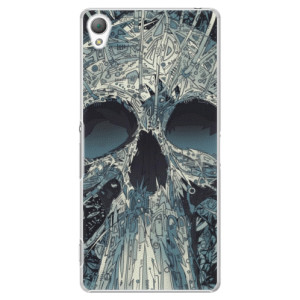 Plastové pouzdro iSaprio Abstract Skull na mobil Sony Xperia Z3