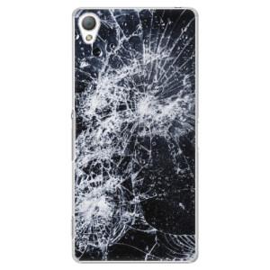 Plastové pouzdro iSaprio Cracked na mobil Sony Xperia Z3
