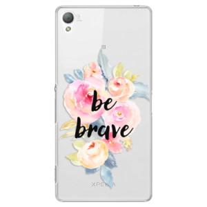 Plastové pouzdro iSaprio Be Brave na mobil Sony Xperia Z3
