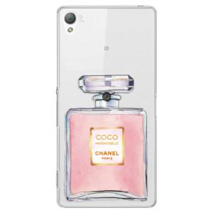 Plastové pouzdro iSaprio Chanel Rose na mobil Sony Xperia Z3