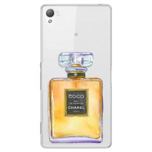 Plastové pouzdro iSaprio Chanel Gold na mobil Sony Xperia Z3