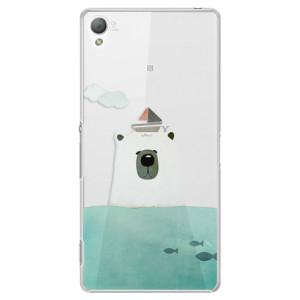 Plastové pouzdro iSaprio Bear With Boat na mobil Sony Xperia Z3
