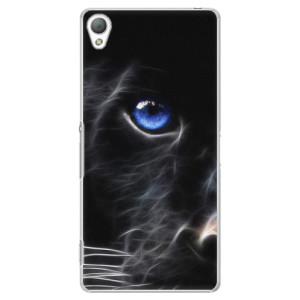 Plastové pouzdro iSaprio Black Puma na mobil Sony Xperia Z3
