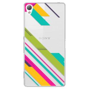 Plastové pouzdro iSaprio Color Stripes 03 na mobil Sony Xperia Z3