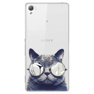 Plastové pouzdro iSaprio Crazy Cat 01 na mobil Sony Xperia Z3