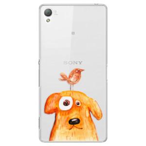 Plastové pouzdro iSaprio Dog And Bird na mobil Sony Xperia Z3